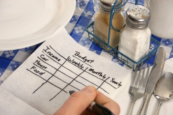 making a food budget